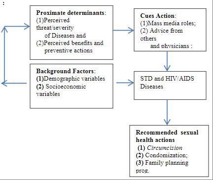 Figure 1 Modified Health Belief Model