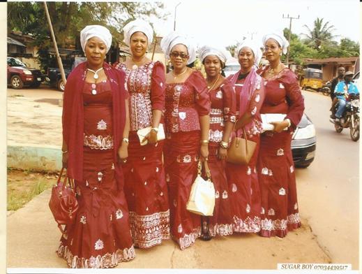 Figure 2 Another group of women on Aso-ebi (Courtesy of Madukasi Francis Chuks)