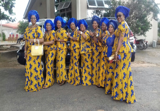 Figure 3 Another group of women on Aso-ebi (Courtesy of Madukasi Francis Chuks)