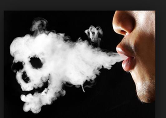 Figure 5 Image of Main Stream Second-hand Smoke